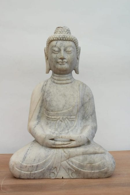 Buda de marmol. Tienda Himalaya -1