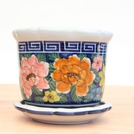 Macetero ceramica oriental - LP01 - Tienda Himalaya. 4