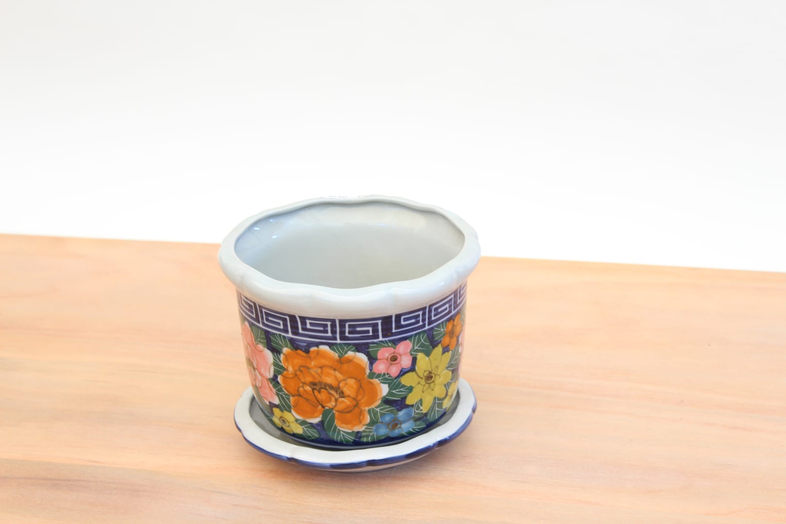macetero ceramica oriental lp tienda himalaya