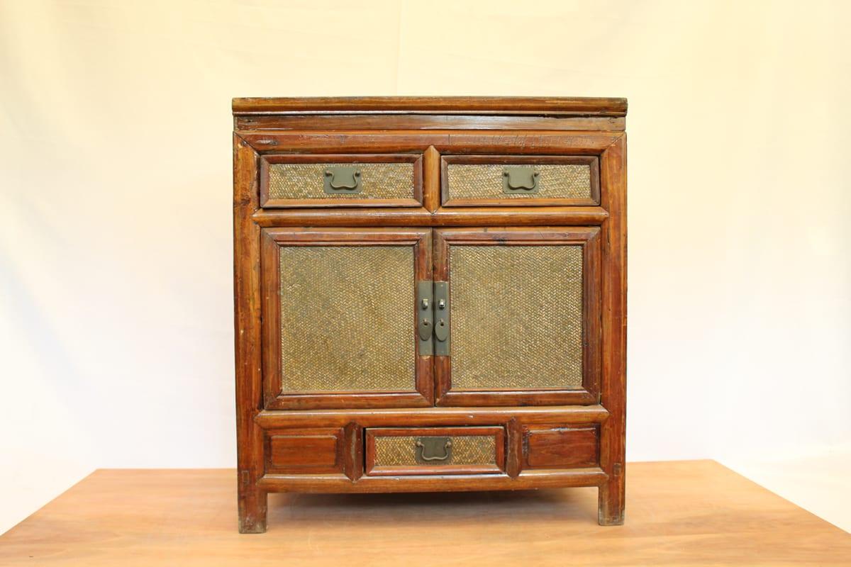 mueble de madera y rattan $ 219 000 origen china material madera de