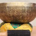 Cuenco Tibetano Tallado a Mano. Tienda Himalaya NB-35.1