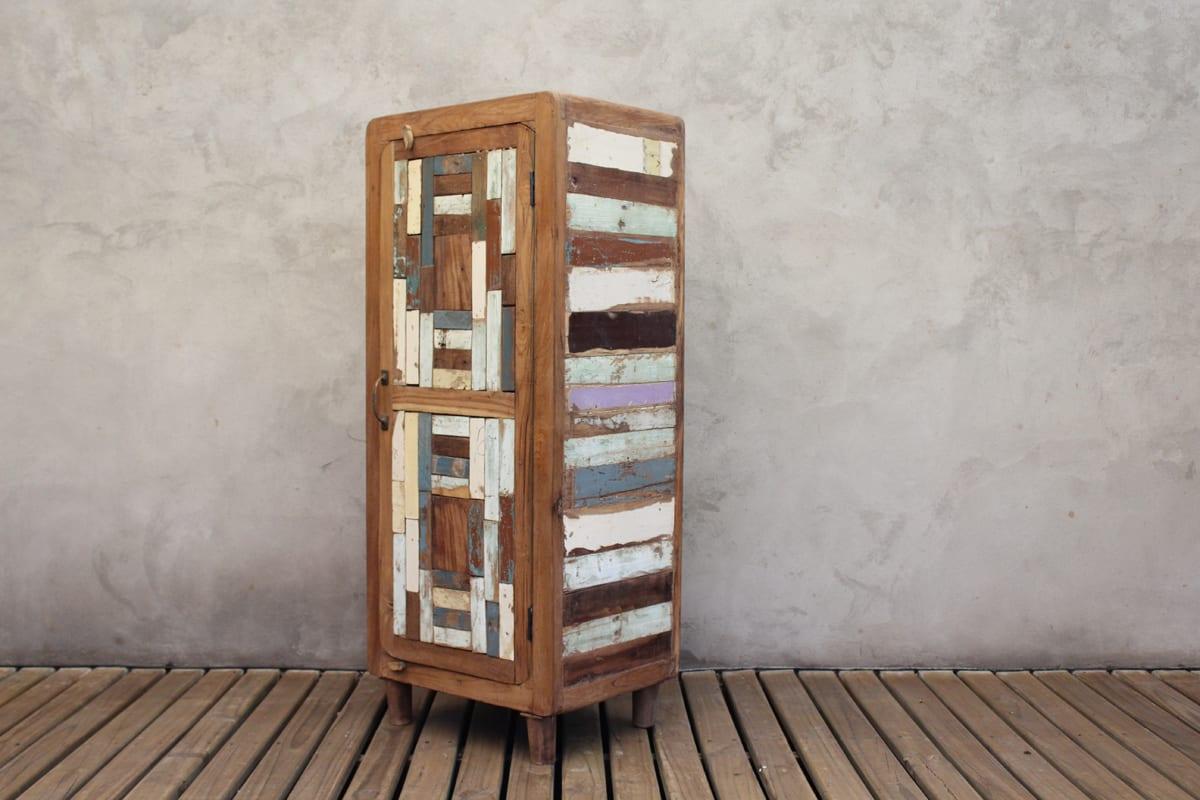 Madera reciclada muebles cambiador de madera reciclada for Mueble de madera