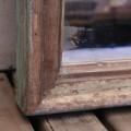 Espejo de madera reciclada. Tienda Himalaya. J116.1