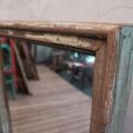Espejo de madera reciclada. Tienda Himalaya2. J116