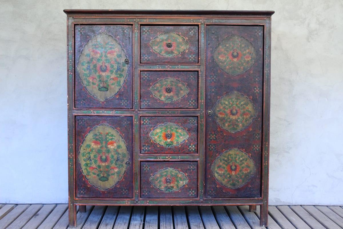 Muebles tibetanos antiguos obtenga ideas dise o de for Armarios japoneses baratos