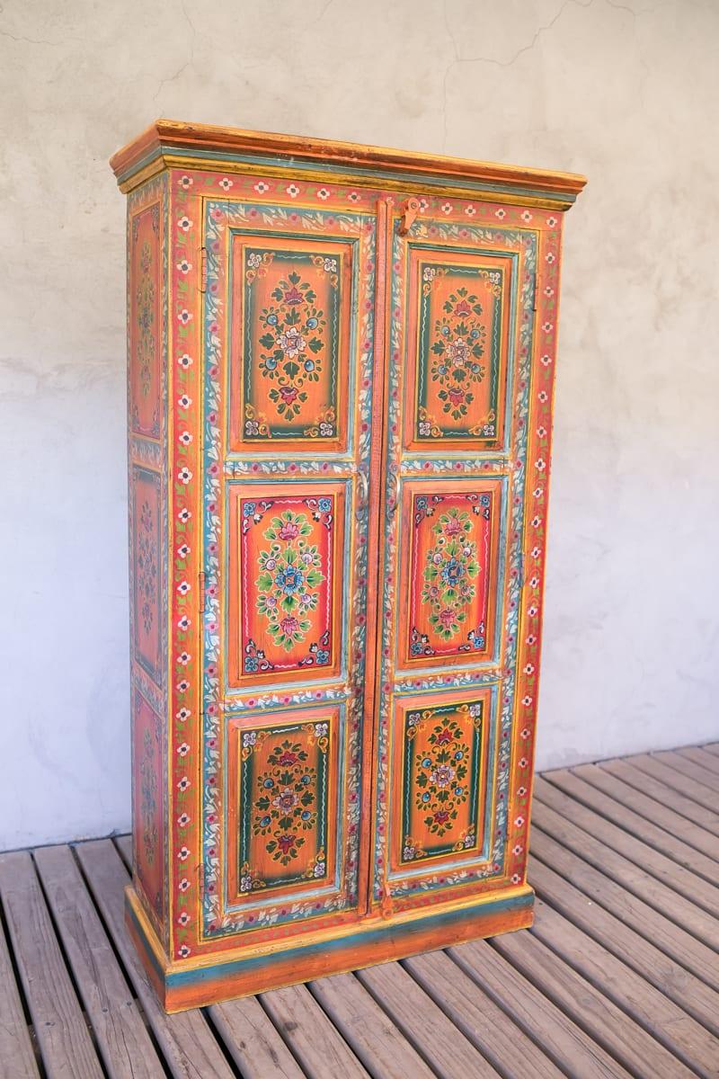 Ropero Pintado De India  # Muebles Tibetanos