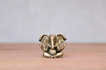 B-415 dios Ganesh de bronce