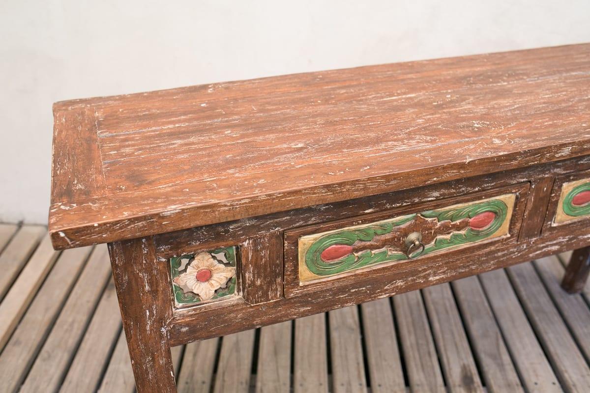 Arrimo Tallado Hindu  # Fotos Muebles Rusticos