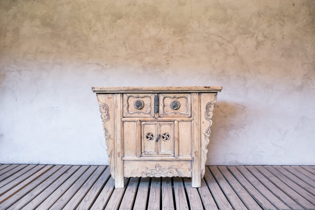 Mueble chino antiguo tallado |