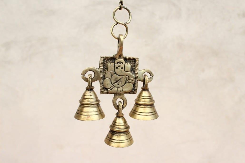 Campanillas Ganesh de bronce. Tienda Himalaya. B-481