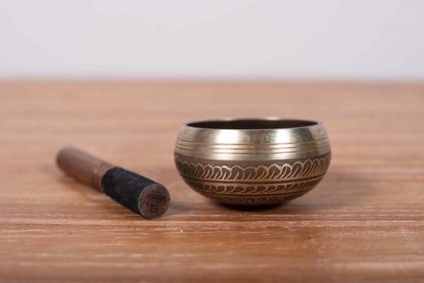 cuenco tibetano pequeño